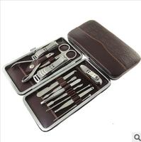 Manicure set 1 twinset combination nail clipper nail art finger scissors manicure set tungsten steel manicure set