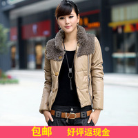 2013 women's thin cotton-padded jacket slim cotton-padded jacket winter short design wadded jacket outerwear