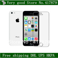 For iPhone 5C Screen Protector,Clear LCD Screen Guard Film Protector for Apple iPhone 5C,Without Retail Package.-500pcs