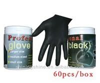 2013 hot sale tattoo black latex glove,tattoo equipment