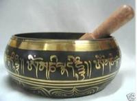 Collectibles Buddhism Copper Singing Bowl  RARE TIBETAN SINGING