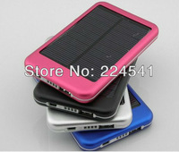 HOT NEW 5000 MAH Solar Battery Panel Mobile Power Bank External Battery Pack Charger for Nokia iPhone IPOD Apple Samsung series