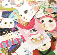 E128 63 Designs Cute Jetoy Choo Choo Cat Postcards Collection Birthday Christmas Gift 146mm*100mm Decoration Pussy Greeting Card
