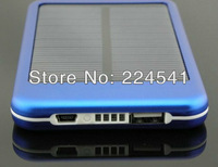 10pcs/lot HOT NEW 5000 MAH Solar Battery Panel Mobile Power Bank External Battery Pack Charger for iPhone  Samsung