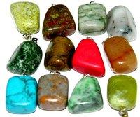 Fashion Jewelry Pendant/Necklace-Fashion Semi-precious Stone Pendant