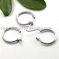 17mm Copper plating white kEearring Wire ,Eearring Hook ,Ear Wire ,Ear Hook