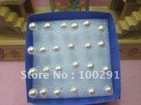 Free shipping!!Wholesale of white pearl ear hammer elegant quality goods earrings.