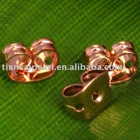 500 Antique Copper Earring Back Stopper