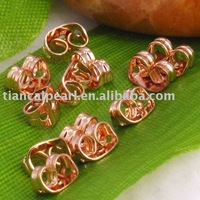 1000 Gold Plated Butterfly Earring Back Stopper