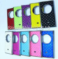 100pcs/lot Free shipping New Luxury Bling Diamond Crystal Star Hard Case Cover for Nokia Lumia 1020