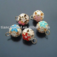 14mm CHRISTMAS WHOLESALE 300PCS CLOISONNE BELL