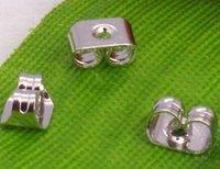 wholesale  free shipping  18KGP Butterfly Earring Back Stopper