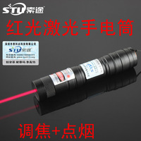 Free shipping! 2015 High power 10000mw green laser pointer flashlight Burning Matches + battery + charger+ gift box