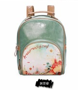 Circleof bag vintage 2013 preppy style backpack female student backpack female bags x1199