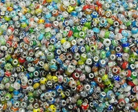 100 pcs  wholesale   fashion  lampwork glass beads  9*13mm size