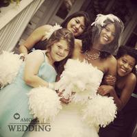 Fashion wedding decoration feather decoration ball bouquet bridesmaid flower girl decoration ball photo props fzh27