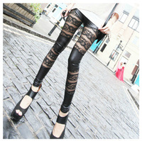 New Large Size Pilei Si Stitching Leggings Pantyhose