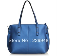 2013 new winter influx of leather casual female models pearl leather shoulder messenger bag