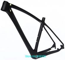 """FR -216 - Full Carbono UD Matt 29er MTB Mountain Bike Frame + Headset + desviador traseiro de suspensão 17 """" , 19""""(China (Mainland))"""