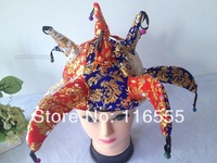 free shipping party hat Paillette carnival hat halloween supplies pumpkin hat, 20 pcs/lot