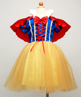 Snow White skirt children skirt wedding dress Halloween costumes dance clothes cotton high quality birthday gifts free shipping