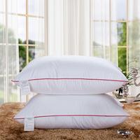 Feather velvet pillow health care pillow cervical vertebra soft comfortable pillow