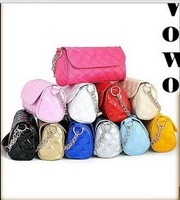 Hot new 2013 fashion Women Quilted Chain Bag Shoulder Bag Messenger Bag Handbag Women leather Bags 15