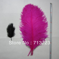 "20-22""(50-55cm) 12pcs/lot  Pink Ostrich Feather  Wedding Centerpieces Decoration Ostrich Feather Plume"