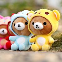Free Shipping Easy bear doll wedding gift doll plush teddy bear  2 pieces/lot