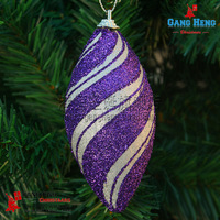 Christmas12cm luxury type thread christmas ball christmas gift hangings 25g/piece
