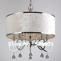 Free shipping L550mm*W550*H650mm E14*5 lights Modern Luxury crystal chandelier, crystal lamp for home