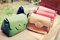 Iber candy chromophous lockbutton small messenger bag shoulder small bag fashion bag