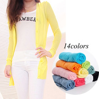 Autumn new arrival 2013 female cool V-neck thin cardigan sweater viscose short-sleeve cardigan thin sweater female