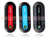 High Quality Bluetooth Car Kit Vehicle Slim Bluetooth 3.0+ EDR Hands-free Dual Standby Visor Multipoint Speaker-phone