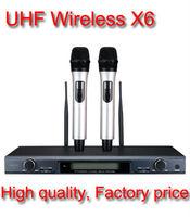New Takstar X6 UHF Wireless Microphone System Professional Karaoke Engineering Installation Microphone & MIC