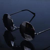 Vintage circle t23 glasses round glasses prince's mirror sunglasses round box sunglasses mirror male Women