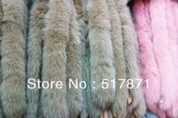 Free Luxurious Fashion 100%fox fur Raccoon Fur Outwear Garment Plus Size Coat High Dyeing Women's Shawls Leather Hide Fur Fabric