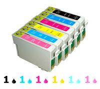For EPSON R270 R290 R390 RX590 RX610 RX615 RX690 TX700 TX710 TX800 TX810FW ink cartridge T0821 T0822 T0823 T0824 T0825 T0826