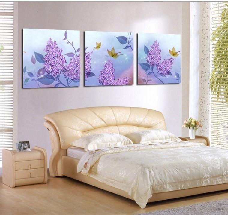 Online kopen wholesale slaapkamer paars uit china slaapkamer paars groothandel - Schilderij slaapkamer meisje ...