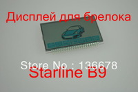 Starline B9 LCD display  LCD display for Starline B9 LCD two way car alarm system new remote control /Free shipping
