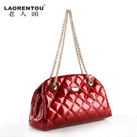 women leather handbag  Crocodile women's bag  women's cowhide handbag fashion bag handbag women's bags