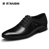 2013 male genuine leather breathable leather fashion pointed toe shoes male k60181