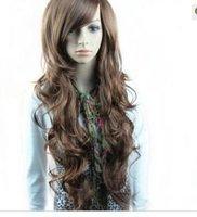 Fluffy romantic Long Wavy Hair Wig