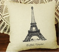 Retro romantic couple pillow cover fabric cotton pillowcase tower chair couch cushion covers section,free shipping