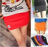 Free shipping Direct manufacturers, 2013 100% cotton Korean fashion style a-line MINI skirt  wholesale price