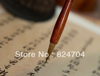 Free shipping Chinese category calligraphy brush writing pen traditional wolf hairs transcribe sutra brush Regular script