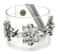 fashion crystal Chain & Link Bracelets rhinestones cuff shourouk bangles for women jewelry Factory Price Bracelets & Bangles