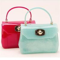 Mini bag transparent handbag   candy small bag New Design leather handbags women's shoulder bag laday's handbag  Free shipping