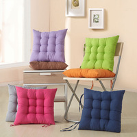 Special Wholesale Price Home & Office Chair Cushion Winter Warm Seat Pads Hot Price 7 Candy Colors