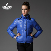 FREE SHIPPING Women's short design thin slim down coat 1836